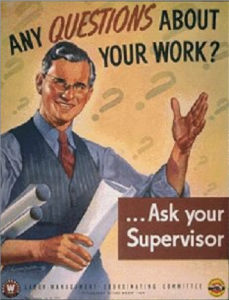 Ask your supervisor